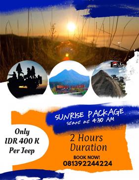Paket Sunrise Lava Tour Merapi